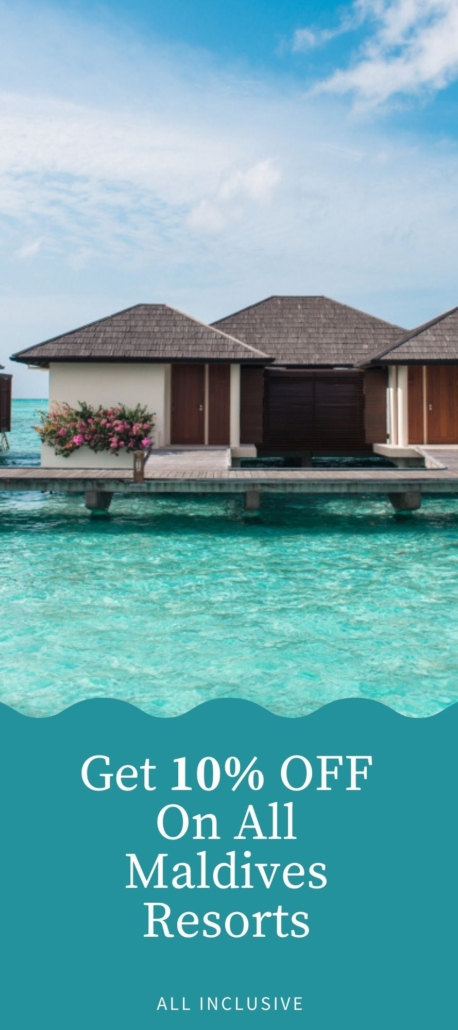 Get 10% OFF On All Maldives Resorts