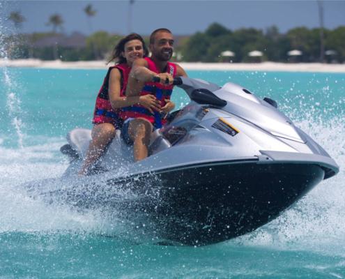 jetski in Maldives
