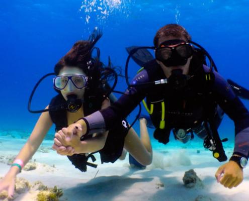 scuba-diving in Maldives